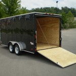 Black enclosed trailer 004